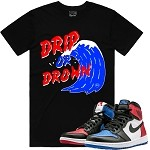 DRIP or DROWN - Black w/ Red