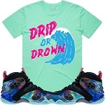 DRIP or DROWN - Mint w/ Hot Pink