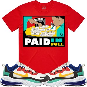PAID IN FULL - Red
