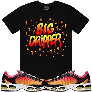 BIG DRIPPER - Black w/ Orange & Yellow