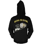 Pullover BIG BANK - Black w/ Gold