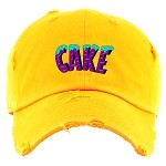 Dad Hat CAKE - Golden Yellow