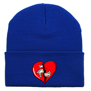 Beanie HEART - Royal
