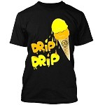 ICE CREAM (Drip Drip) - Black w/ Yellow