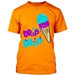 ICE CREAM (Drip Drip) - Orange w/ Purple