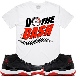 Do The DASH - White w/ Red