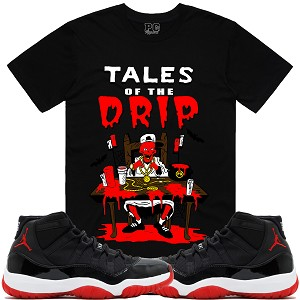 TALES DRIP - Black w/ Red