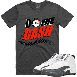 Do The DASH - Charcoal w/ Red