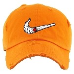 Dad Hat SWOOSH - Orange