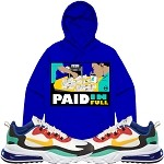 Pullover PAID IN FULL - Royal