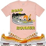 ROAD RUNNER - Salmon Pink w/ Orange