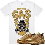 GAS - White w/ Gold