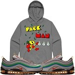 Pullover PACKMAN - Silver