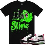 SLIME - Black w/ Lime & Pink