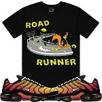 ROAD RUNNER  - Black w/ Orange