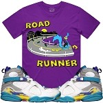 ROAD RUNNER - Purple w/ Turquoise
