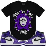 MEDUSA - Black w/ Purple