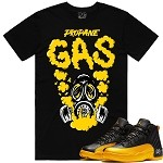 GAS - Black w/ Golden Yellow