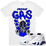 GAS -White w/ Royal Blue