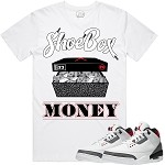 SHOEBOX MONEY - White