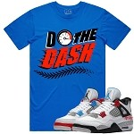 Do The DASH - Arctic Blue w/ Red