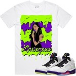 MASTERPIECE - White w/ Purple & Neon