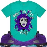 MEDUSA - Teal w/ Purple
