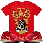 GAS - Red w/ Gold