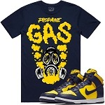 GAS - Navy w/ Golden Yellow