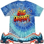 BIG DRIPPER - Blue Jerry Tye Dye