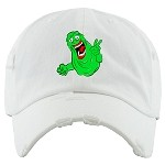 Dad Hat SLIME - White