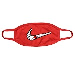 Face Mask SWOOSH - Red