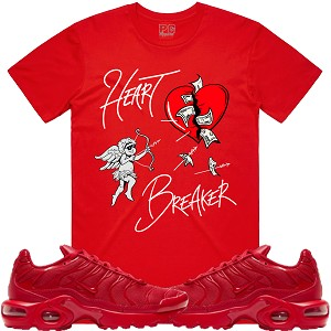 HEART BREAKER - Red w/ Silver